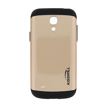 Puzdro Kisswill Slim Armor pre Samsung Galaxy S4 Mini - i9195 a i9190 a S4 Mini VE - i9195i, Gold