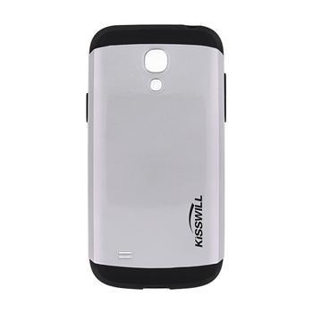 Puzdro Kisswill Slim Armor pre Samsung Galaxy S4 Mini - i9195 a i9190 a S4 Mini VE - i9195i, Silver