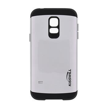 Puzdro Kisswill Slim Armor pre Samsung Galaxy S5 mini - G800, Silver