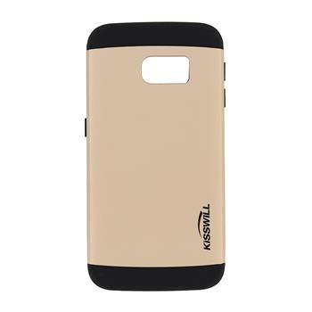 Puzdro Kisswill Slim Armor pre Samsung Galaxy S6 Edge - G925F, Gold