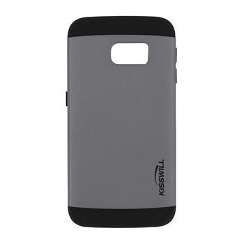 Puzdro Kisswill Slim Armor pre Samsung Galaxy S6 Edge - G925F, Grey