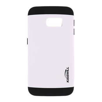 Puzdro Kisswill Slim Armor pre Samsung Galaxy S6 Edge - G925F, White