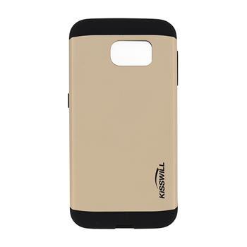Puzdro Kisswill Slim Armor pre Samsung Galaxy S6 - G920F, Gold