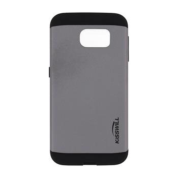 Puzdro Kisswill Slim Armor pre Samsung Galaxy S6 - G920F, Grey