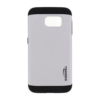 Puzdro Kisswill Slim Armor pre Samsung Galaxy S6 - G920F, Silver