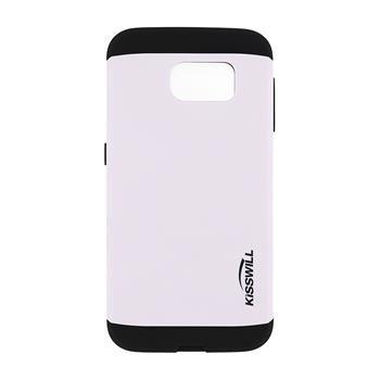 Puzdro Kisswill Slim Armor pre Samsung Galaxy S6 - G920F, White