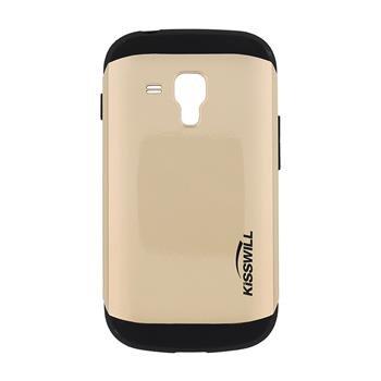 Puzdro Kisswill Slim Armor pre Samsung Galaxy S7560/S7562/S7580/S7582, Gold
