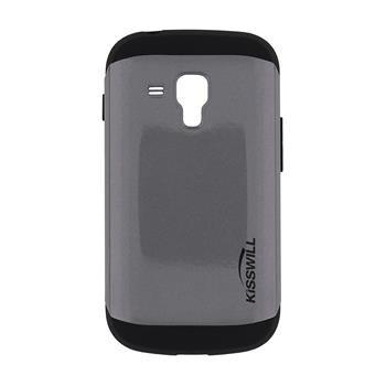 Puzdro Kisswill Slim Armor pre Samsung Galaxy S7560/S7562/S7580/S7582, Grey