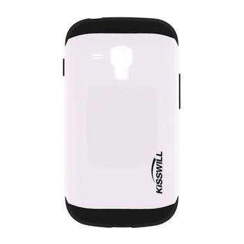Puzdro Kisswill Slim Armor pre Samsung Galaxy S7560/S7562/S7580/S7582, White