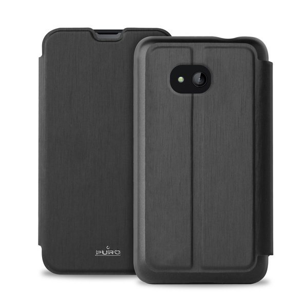 Puzdro knižkové Puro Wallet Case pre Microsoft Lumia 640, Black