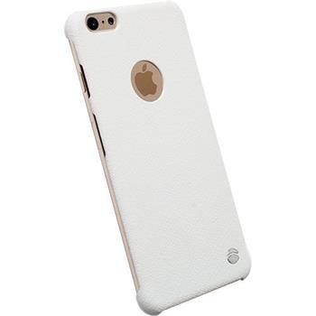 Puzdro Krusell Malmo TextureCover pre Apple iPhone 6 Plus a 6S Plus, White