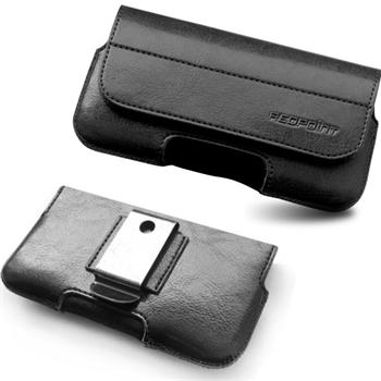 Puzdro na opasok Safir pre Lenovo A6000 Plus a A6010 Plus, Black