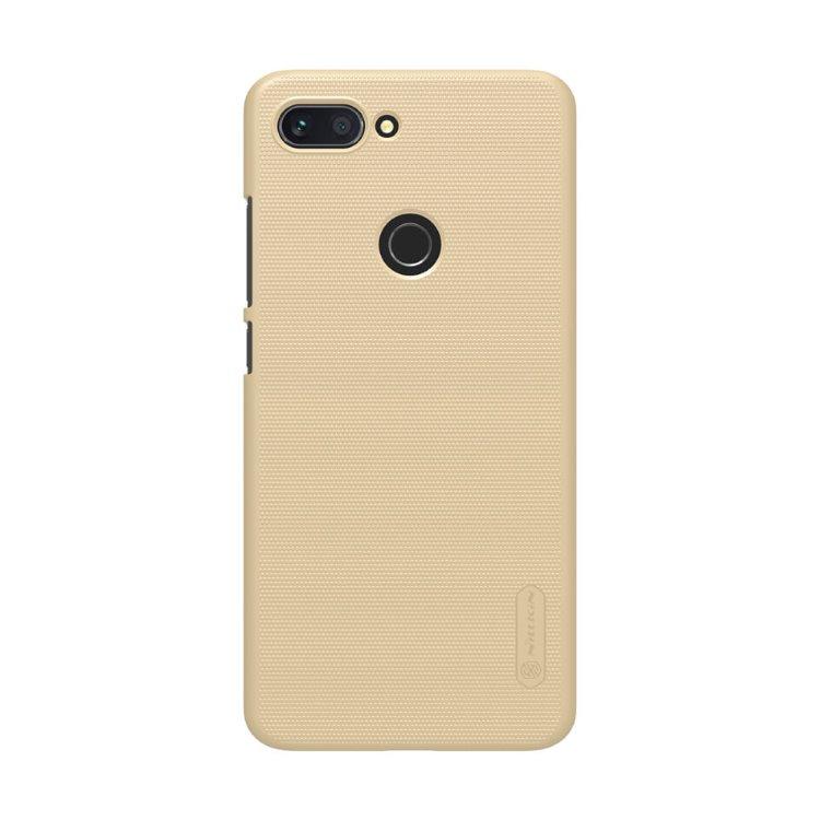 Puzdro Nillkin Super Frosted pre Xiaomi Mi8 Lite, Gold 6902048166233