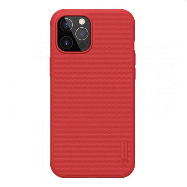 Púzdro Nillkin Super Frosted PRO pre iPhone 12 Pro Max, Red 2454662