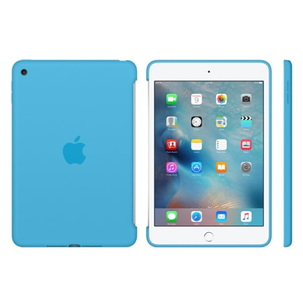 Puzdro originálne Silicone Case pre Apple iPad Mini 4, Light Blue