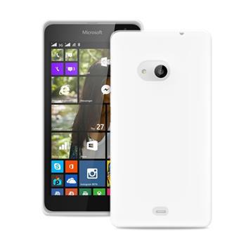 Puzdro Puro 0.3 Ultra Slim pre Microsoft Lumia 640, Transparent + fólia na displej