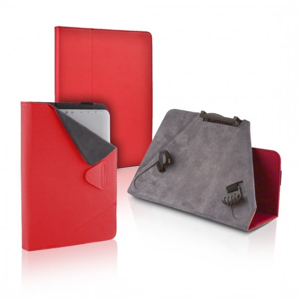 Puzdro QAC Type 1 pre Samsung Galaxy Tab S2 9.7 - T810/T815, Red
