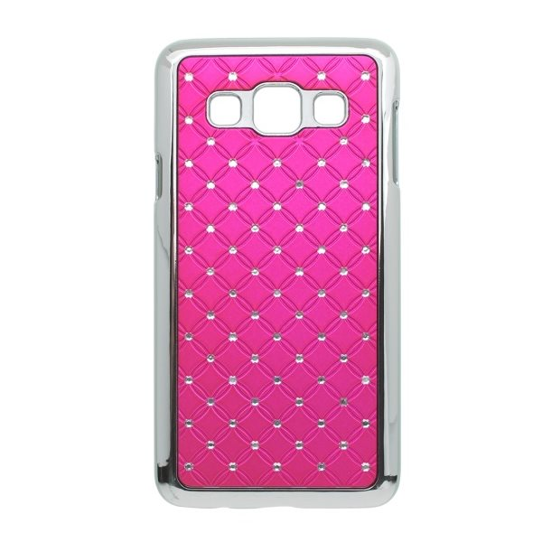 Puzdro s kryštálmi pre Samsung Galaxy A3 - A300F, Pink