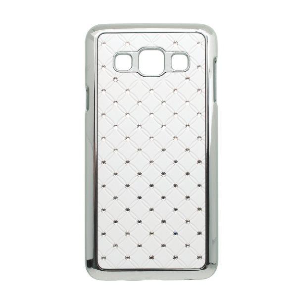 Puzdro s kryštálmi pre Samsung Galaxy A3 - A300F, White