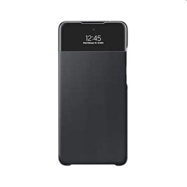 Puzdro S View Cover pre Samsung Galaxy A72 - A725F, black (EF-EA725PB) EF-EA725PBEGEE