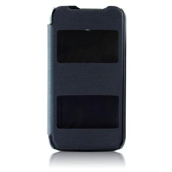 Puzdro S-VIEW pre HTC Desire 320, Black