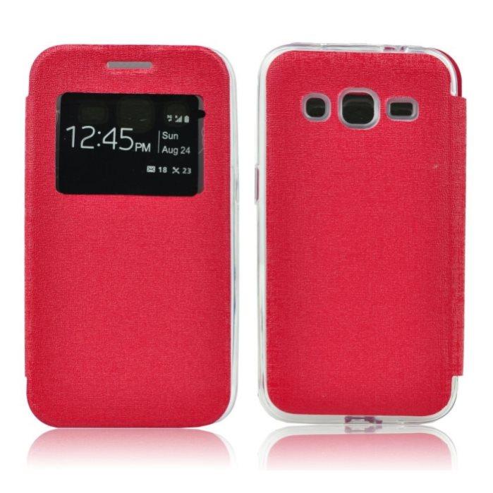 Puzdro S-View pre LG G4c - H525n, Red