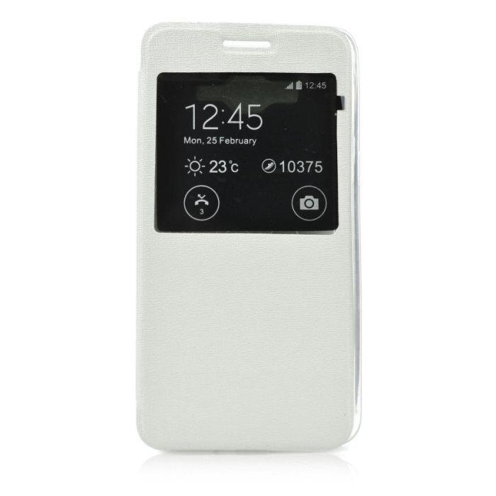 Puzdro S-View pre LG Magna - H502, White
