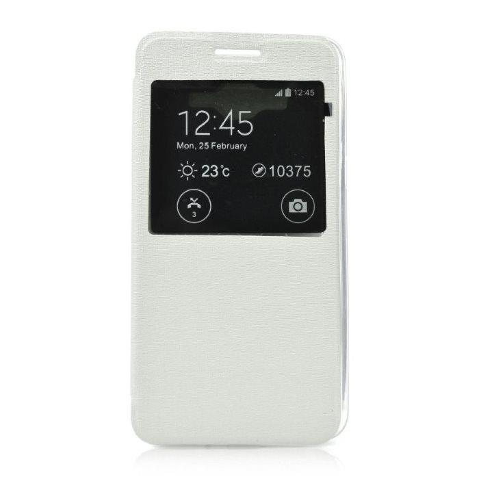 Puzdro S-VIEW pre Microsoft Lumia 550, White