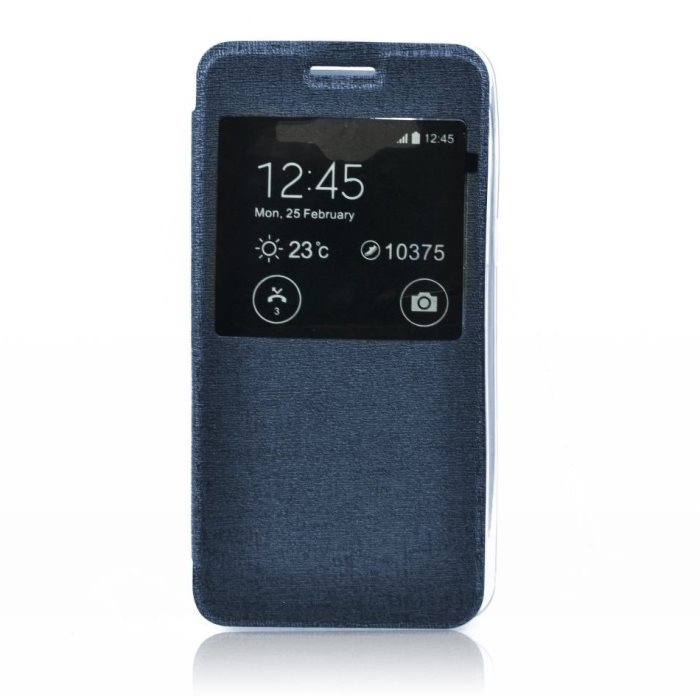 Puzdro S-VIEW pre Nokia Lumia 730 a 735, Blue