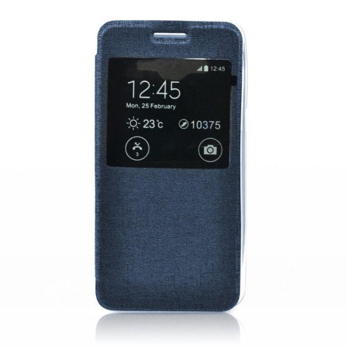 Puzdro S-VIEW pre Nokia Lumia 830, Blue