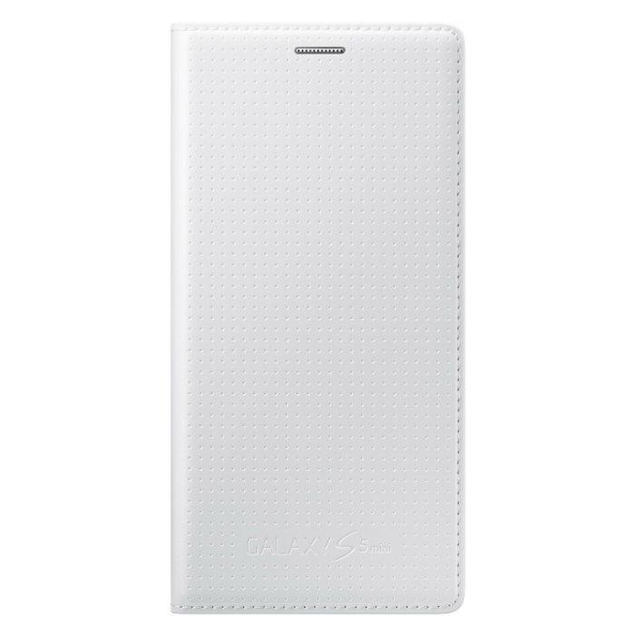 Puzdro Samsung EF-FG800 pre Samsung Galaxy S5 Mini - G800, Punching White