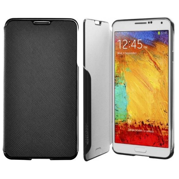 Puzdro Samsung Folio SMN9000 pre Samsung Galaxy Note 3 - N9005, Black