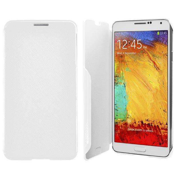 Puzdro Samsung Folio SMN9000 pre Samsung Galaxy Note 3 - N9005, White