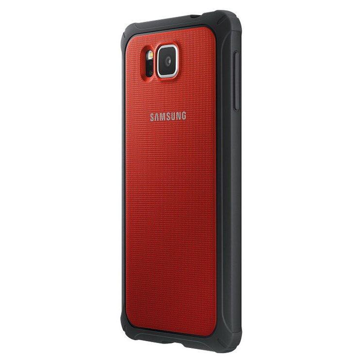 Puzdro Samsung Protective EF-PG850B pre Samsung Galaxy Alpha - G850, Red