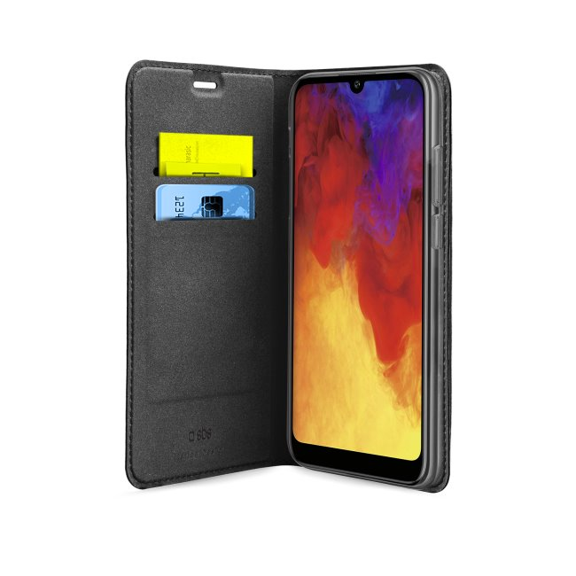 Puzdro SBS Book Wallet Lite pre Huawei Y6 2019/Y6 Pro 2019//Y6s 2019/Honor 8A, čierne TEBKLITEHUY619K