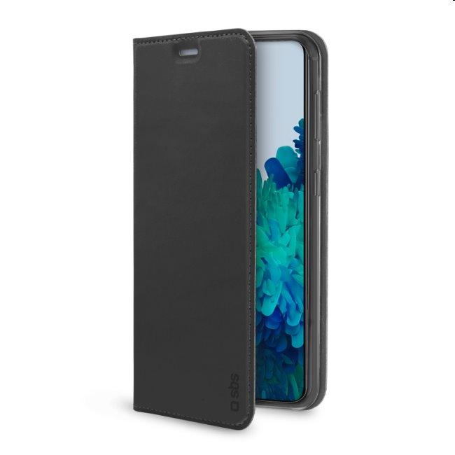 Puzdro SBS Book Wallet Lite pre Samsung Galaxy S21 - G991B, čierne