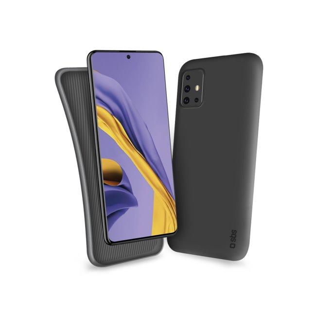 SBS - Puzdro Polo pre Samsung Galaxy A51, čierna TEPOLOSAA51K