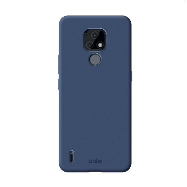 Puzdro SBS Sensity pre Motorola Moto E7, modré TESENSMOE7B