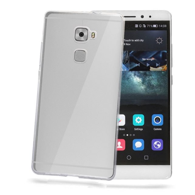 Puzdro silikonové Celly Premium GelSkin pre Huawei Ascend Mate S, Transparent