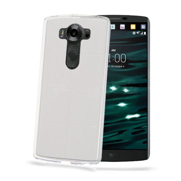 Puzdro silikonové Celly Premium GelSkin pre LG V10 - H960A, Transparent