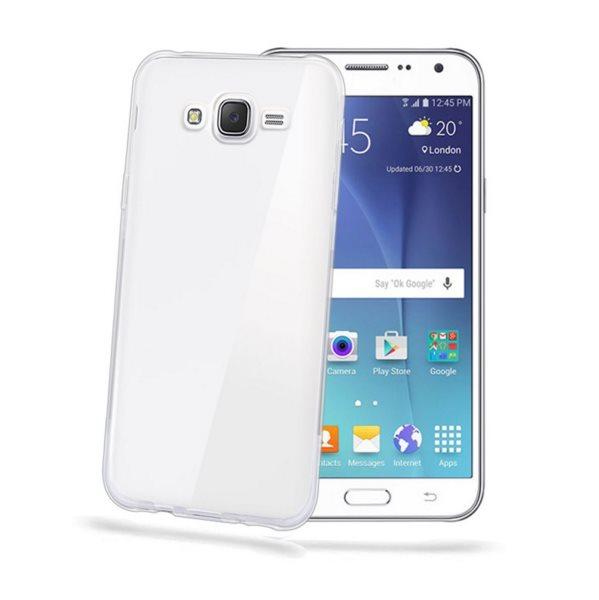 Puzdro silikonové Celly Premium GelSkin pre Samsung Galaxy J5 - J500 a J5 Dual , Transparent