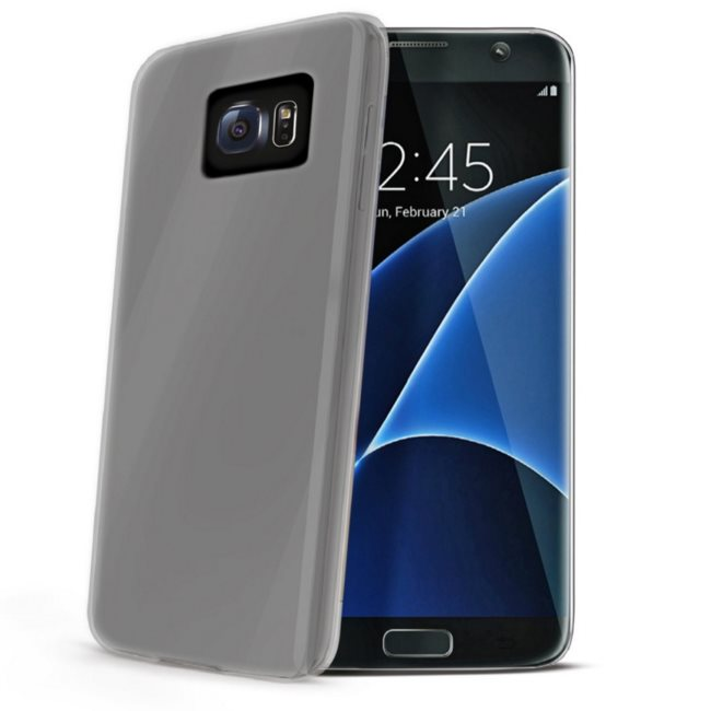 Puzdro silikonové Celly Premium GelSkin pre Samsung Galaxy S7 Edge - G935F, Transparent