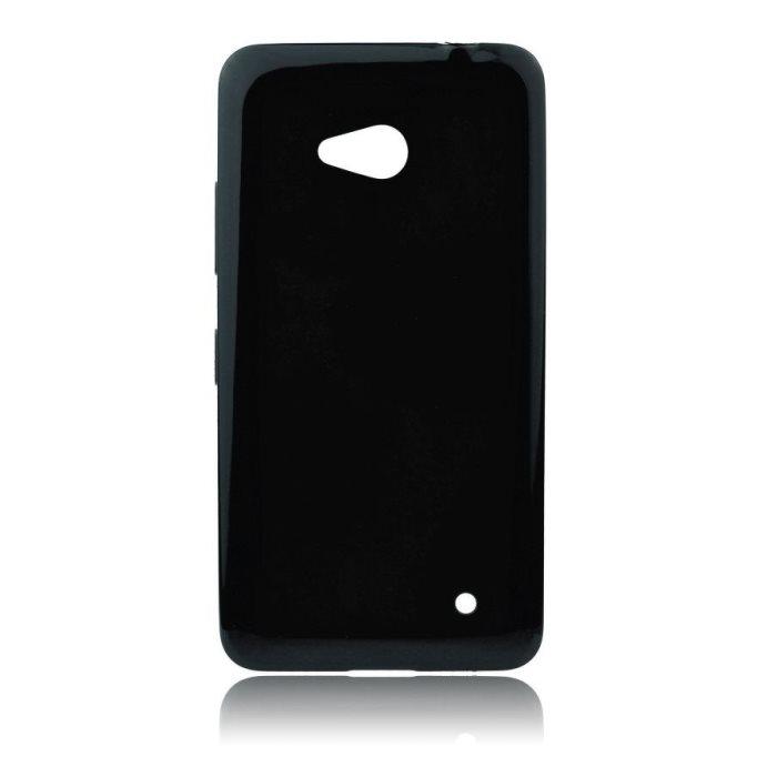Puzdro silikonové Jelly Case pre Microsoft Lumia 640 a 640 LTE, Black