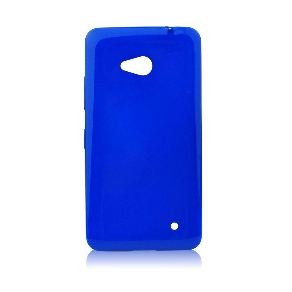 Puzdro silikonové Jelly Case pre Microsoft Lumia 640 a 640 LTE, Blue