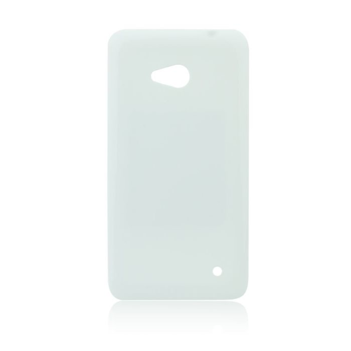 Puzdro silikonové Jelly Case pre Microsoft Lumia 640 a 640 LTE, White