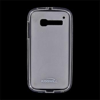 Puzdro silikonové Kisswill pre Alcatel One Touch Pop C5 - 5036D, Transparent