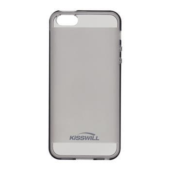 Puzdro silikonové Kisswill pre Apple iPhone 7 Plus, Black