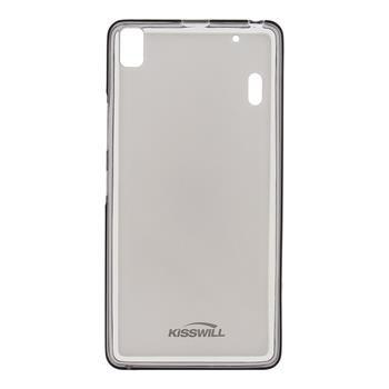 Puzdro silikonové Kisswill pre Lenovo A7010, Black
