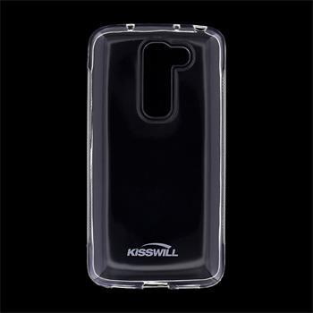Puzdro silikonové Kisswill pre LG G2 mini - D620r, Transparent