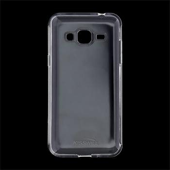 Puzdro silikonové Kisswill pre Samsung Galaxy J3 (2016) - J320F, Transparent